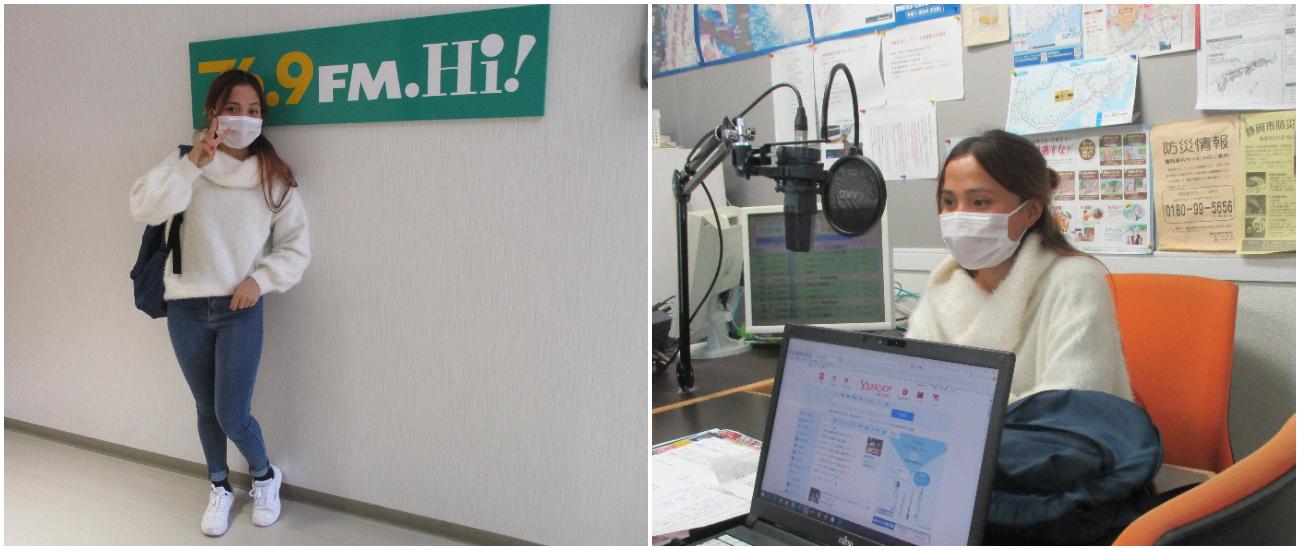 10月22日(木)にラジオ出演しました。