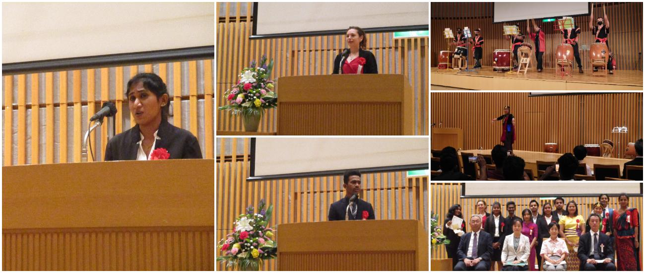 日本語スピーチコンテストが行われました。
