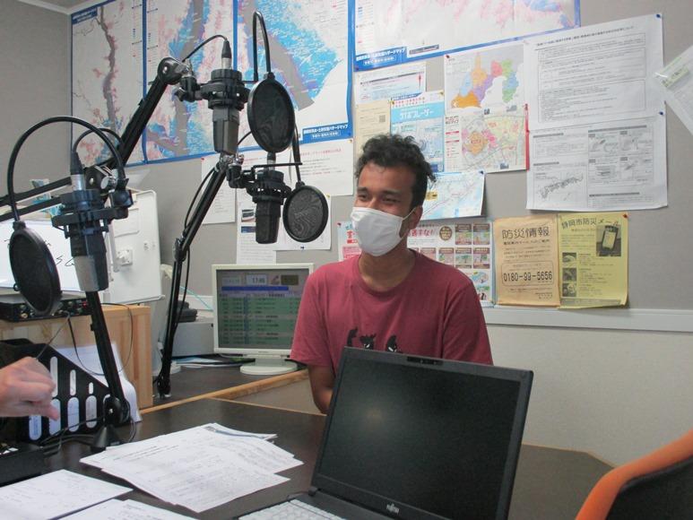 9月24日(木)にラジオ出演しました。